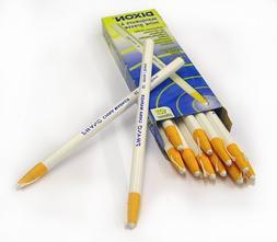 Dixon 00092 China Markers, White, 12-Pack