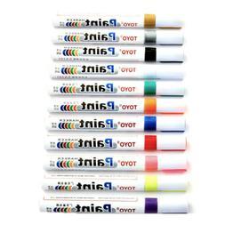 1-10Pcs Tire Permanent Paint Marker Pen Car Tyre Rubber Wate