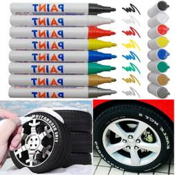 1/5/8/12 Tire Permanent Paint Marker Pen Car Rubber Glass Wa