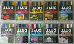 10 sets Tombow Dual Brush Pens  Color Ink Drawing Art NEW