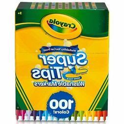 Crayola 100 Count Supertip Markers W