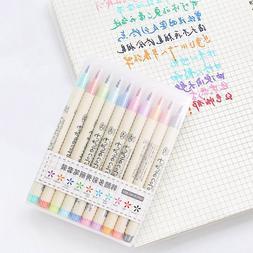 10pcs/lot Futurecolor Write Brush <font><b>Pen</b></font> Co