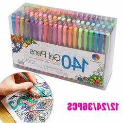 12 24 36 pcs colorful gel pen