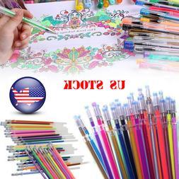 12/36/48 Gel Pens Glitter Multifunction Drawing Painting Gra