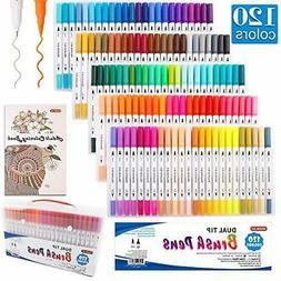 Shuttle Art brush pen watercolor brush 120-color set marker