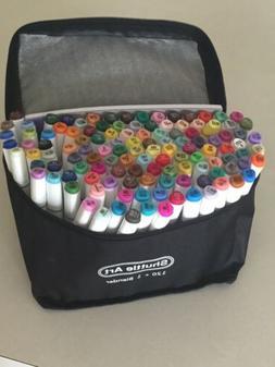 121 Colors Dual Tip Alcohol Based Art Markers,120 Colors plu