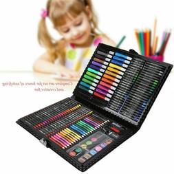 168pcs Art Drawing Pencils Set Colored Pencils Markers Crayo