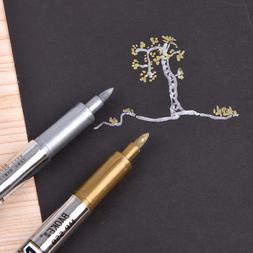 1pc Metallic Color Pen Creative Paint Student Supplies Marke