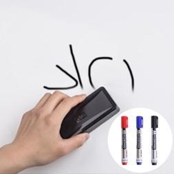 1Pc Whiteboard Marker Pen Erasable Dry-Erase Sign Ink Refill