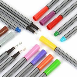 1set Fineliner Pens Color Markers For Drawing Art Painting P