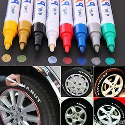 1X Colorful Waterproof Permanent Paint Pen Tire Metal Outdoo