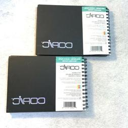 "2 Copic Sketchbooks 5"" X 7""  50 Sheets 70 LB Marker Paper"