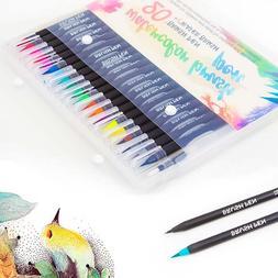 20 Color Premium <font><b>Markers</b></font> Soft Set Waterc