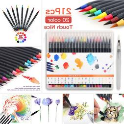 20 Colors Artist Watercolor Drawing Painting Brush Sketch Ma