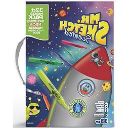 Mr. Sketch 2022889 Scented Markers Intergalactic Neon Colori