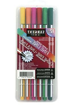 Sargent Art 22-1491 12ct Super Fine Line Marker Pack