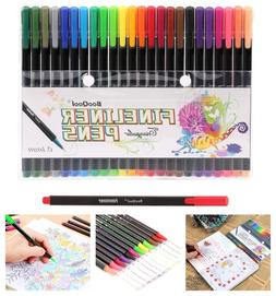 24-Pack Colored Pens Fine Point Markers Fine Line Drawing Co