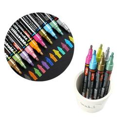 2pcs/set White black board Smooth Marker Pens Non-toxic Dry