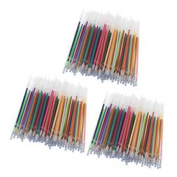 300pcs Gel Pens Gel Refills Rollerball Glitter Markers Pen K
