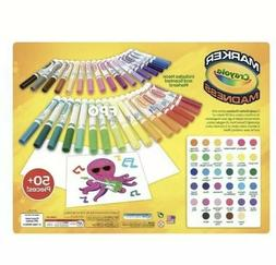 34 Crayola Marker Madness Markers Scented & Neon Art Set Wit