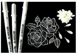 Sakura 37488 Gelly Roll Classic 08  3PK Pen, White