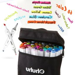 Ohuhu 40/60/80/100/120 Colors Dual Tips Art Markers Perfect