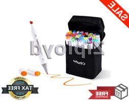 Ohuhu 40-Color Dual Tips Permanent Marker Pens Art Markers f