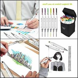 40 Colors Artist Dual Head For School Drawing Sketch Marker