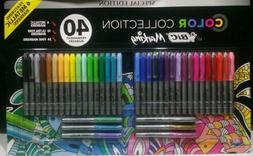 40 Pack Bic Marking Color Collection Special Ed Permanent Ma