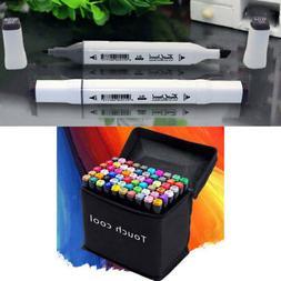 48 Colors Artist Dual Head Sketch Markers Set For School Dra