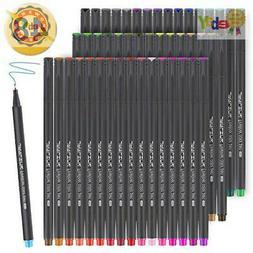 JARLINK 48 Colors Journal Planner Pens, Fine Point Fineliner