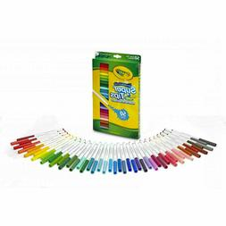 Crayola 50ct Washable Super Tips Markers 50 Color Variety Ar