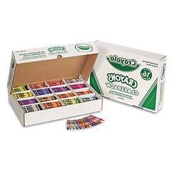 Crayola 528016 Classpack Regular Crayons, 16 Colors, 800/BX