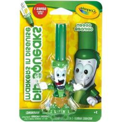 Crayola 58-8720 Pipsqueaks Markers in Disguise, Green Grinde