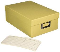 Darice Tan Photo Storage Box – Store, Organize and Protect