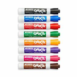 Expo 80078 Low Odor Dry Erase Markers Chisel Tip Assorted Co