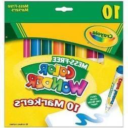 Color Wonder Broad Line Markers 10-Pack - 2 Packs