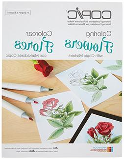 Copic Markers CB-FLOWR Coloring Foundations - Coloring Flowe