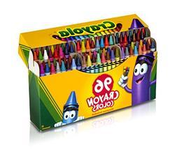 Crayola 52-0096 96 Count Crayon Box With New Specialty Crayo