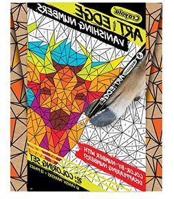Crayola Art with Edge Vanishing Numbers Hidden Animals Game