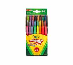 Crayola Fun Effects Mini Twistables Crayons, 24-Count,  1 p
