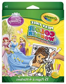 Crayola Mess Free Color Wonder Disney Princess Coloring Pad