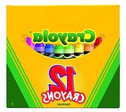 """Crayola Non-Toxic Crayon in Tuck Box , 5/16"""" x 3-5/8"""", Assor"""