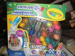 Crayola Pip-Squeaks Washable Markers, Telescoping Marker Tow
