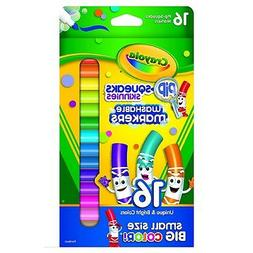 Crayola, Washable Markers Pack of 16- Assorted Colors