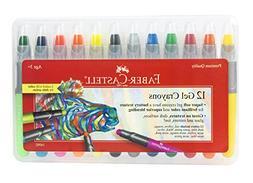 Faber-Castell Gel Crayons ? Super Soft For Brilliant Color A
