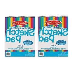 Melissa & Doug Sketch Pad, Arts & Crafts, Fade-Resistant, Ac