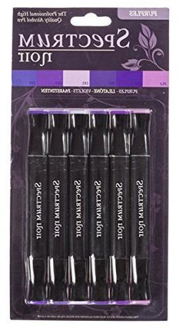 Spectrum Noir Next Generation Purples Alcohol Markes 6-pack