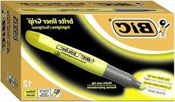 Wholesale CASE of 20 - Bic Brite Liner Grip XL Highlighters-