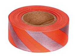 Allen A46 150 Roll 46 Reflective Orange Flagging Tape with R